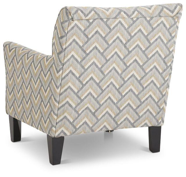 Maggie Dark Gray Multi Accent Chair