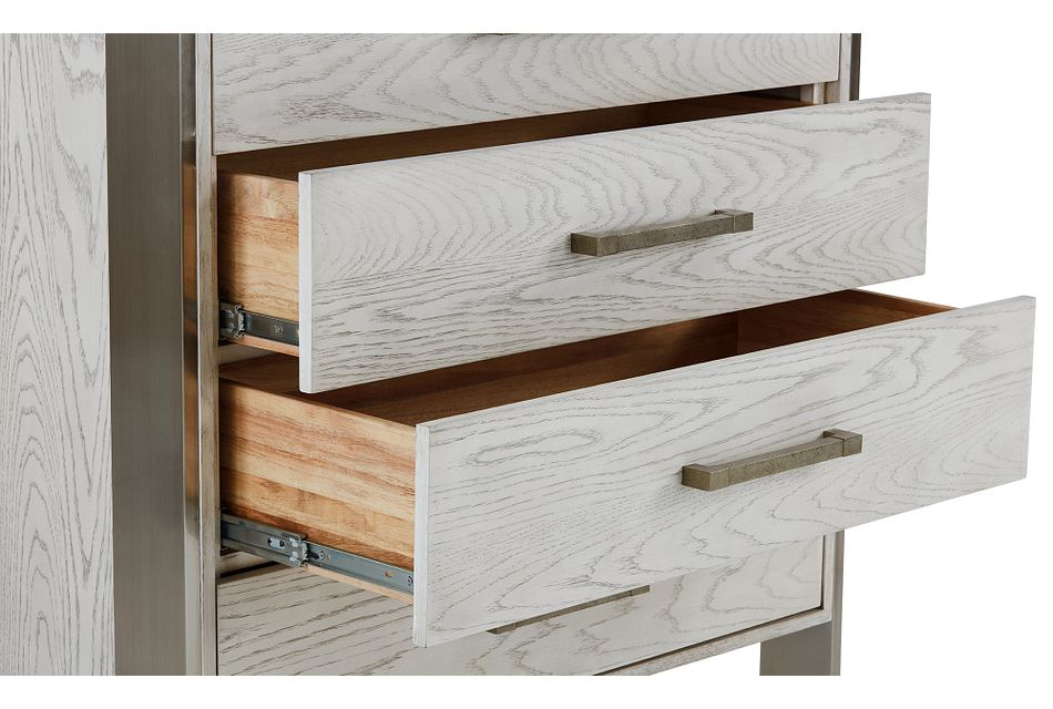 Madigan Silver Accent Chest