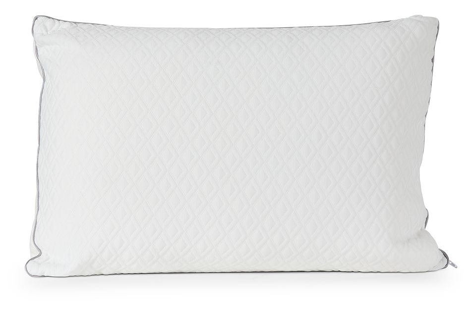 Rest & Renew Shredded Memory Foam  Firm Back Sleeper Pillow, Queen (0)