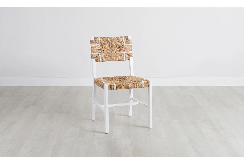 Nantucket Light Tone Woven Side Chair,  (0)