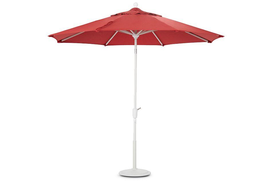 Capri Red Umbrella Set,  (0)