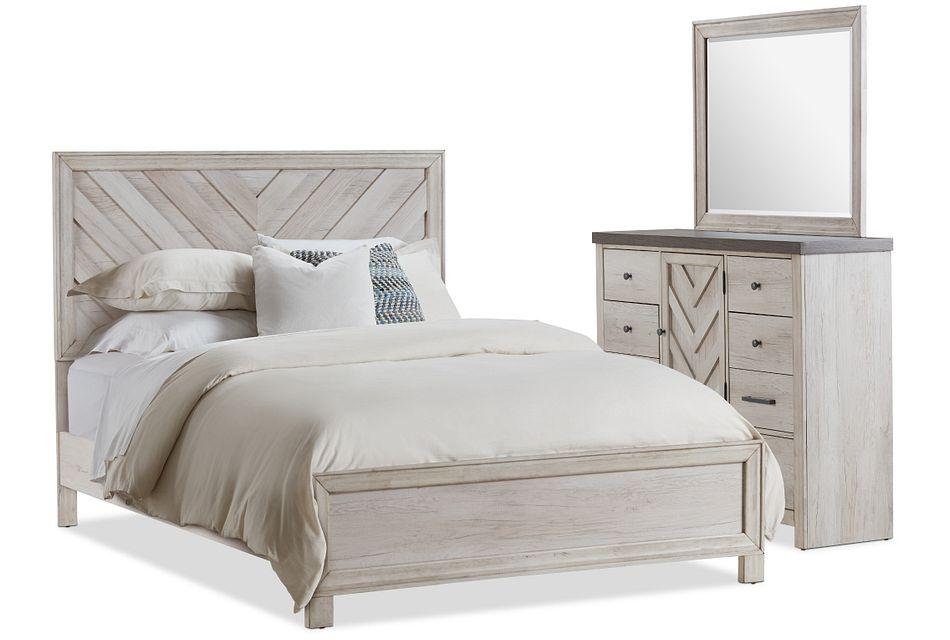 Casper Light Tone Panel Bedroom