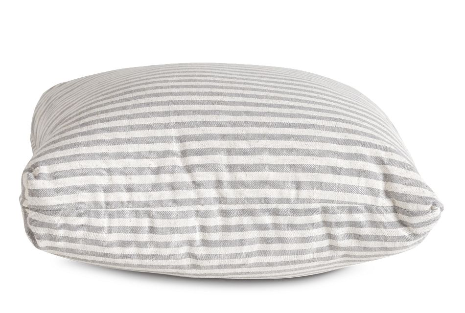 """Scout Gray Fabric 18"""" Accent Pillow,  (2)"""