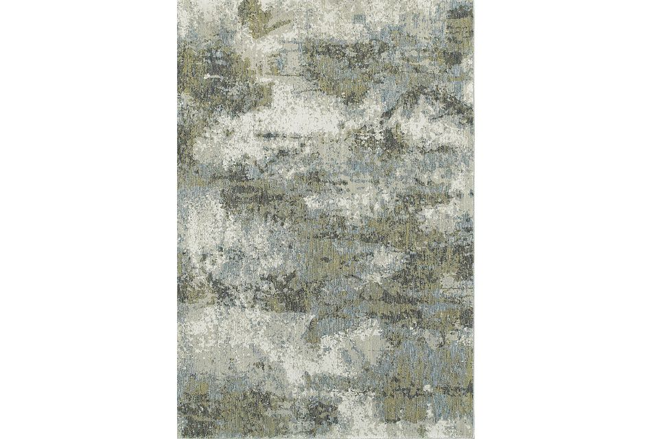Evolution Multicolored 5x8 Area Rug