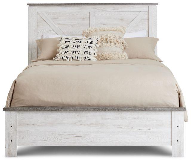 Blueridge Two-tone Panel Bed (3)