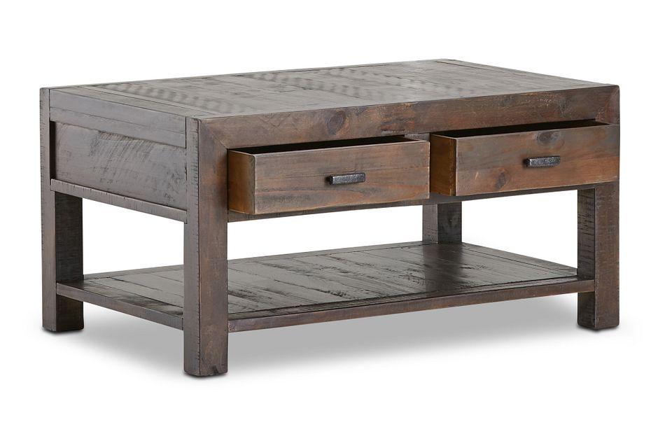 Seattle Dark Tone Rectangular Coffee Table