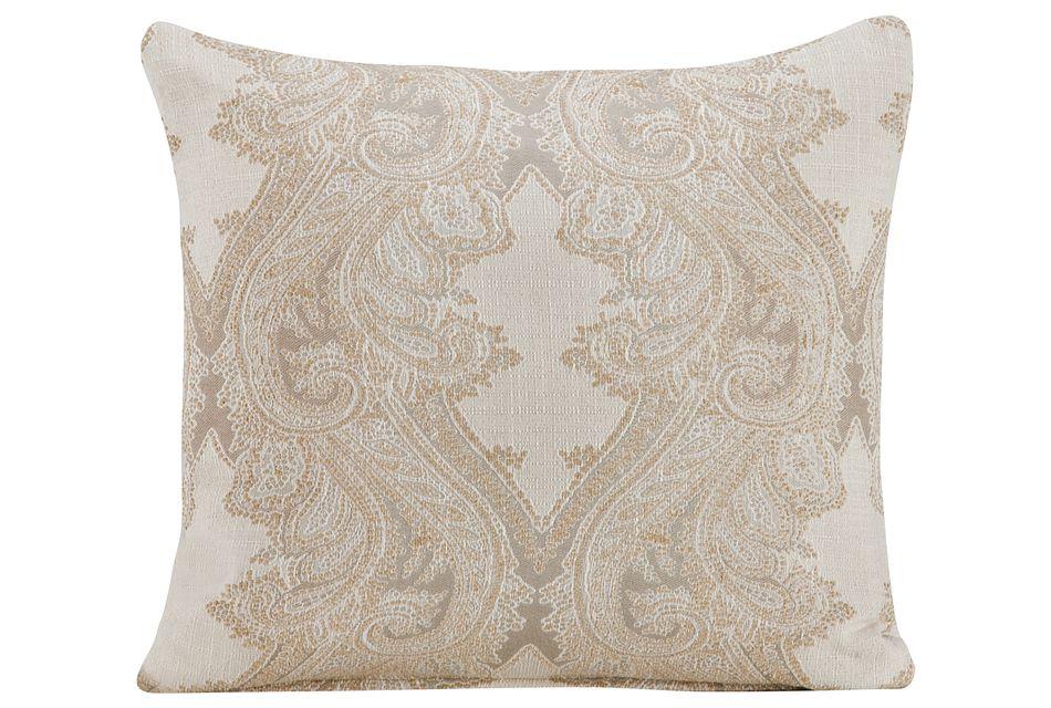 Lorna Multicolored  Fabric Square Accent Pillow