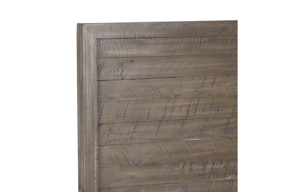 Seattle Gray Wood Platform Storage Bed