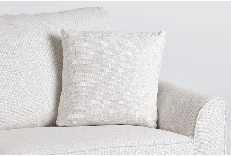 "Austin White 18"" Square Accent Pillow,  (0)"