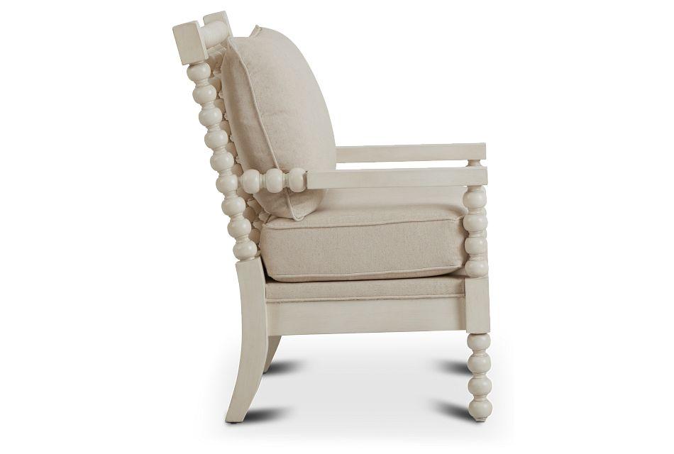 Savannah Ivory Accent Chair,  (2)
