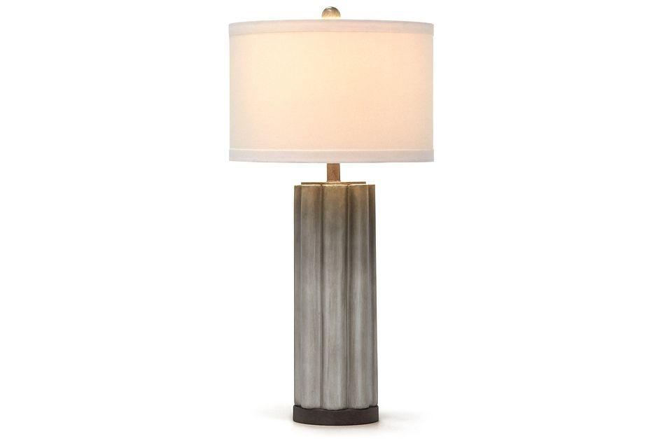 Brighton Gray Table Lamp