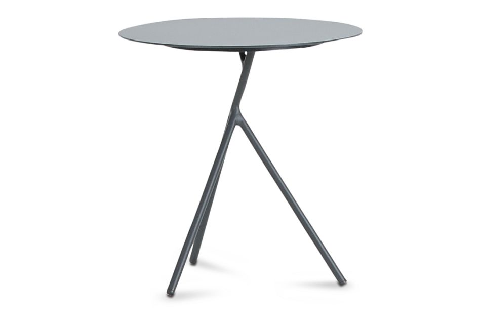 Ibiza Dark Gray Low Accent Table