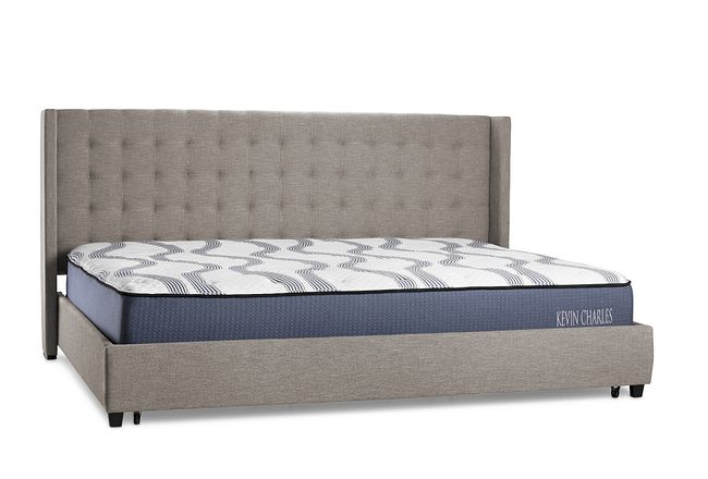 Chatham Pewter Uph Panel Storage Bed