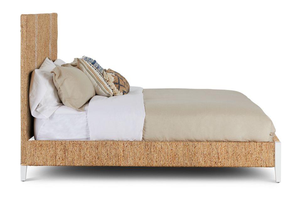 Nantucket Light Tone Woven Panel Bed
