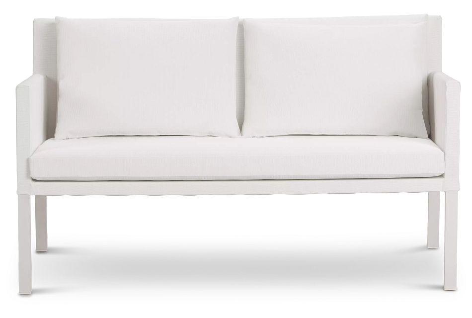 Lisbon2 White Sofa,  (0)