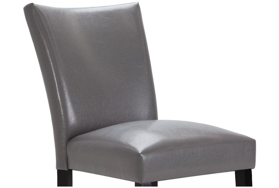 """Auburn Gray 24"""" Upholstered Barstool"""