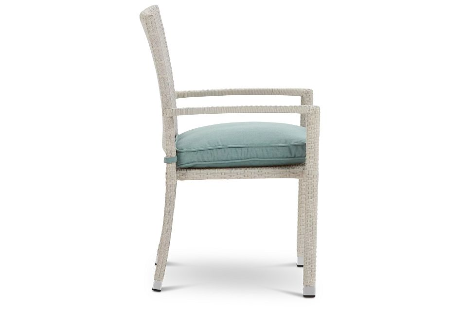 Bahia Teal Arm Chair