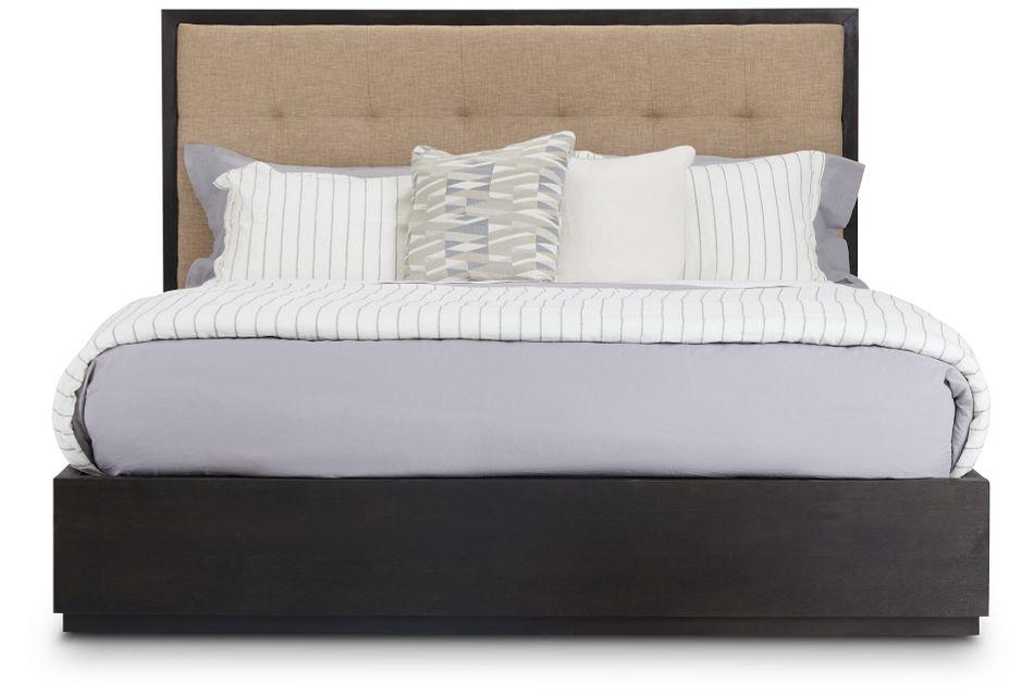 Madden Dark Tone Wood Platform Bed, King (3)