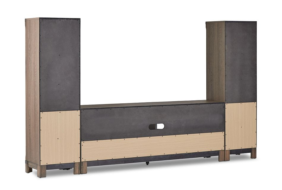 "Lancaster Mid Tone 72"" Entertainment Wall"
