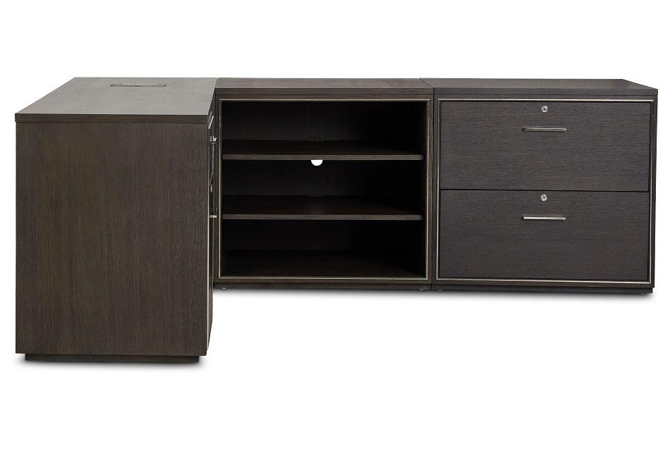 Highline Dark Tone L Desk,  (3)