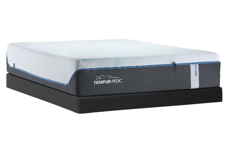 Tempur-luxe Adapt Plush Low-profile Mattress Set