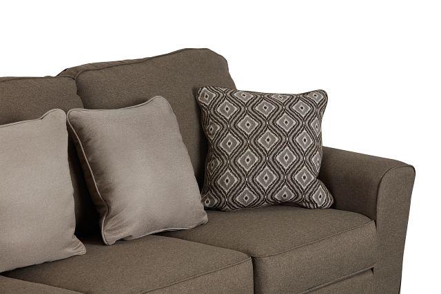 Calicho Dark Taupe Micro Sofa (3)