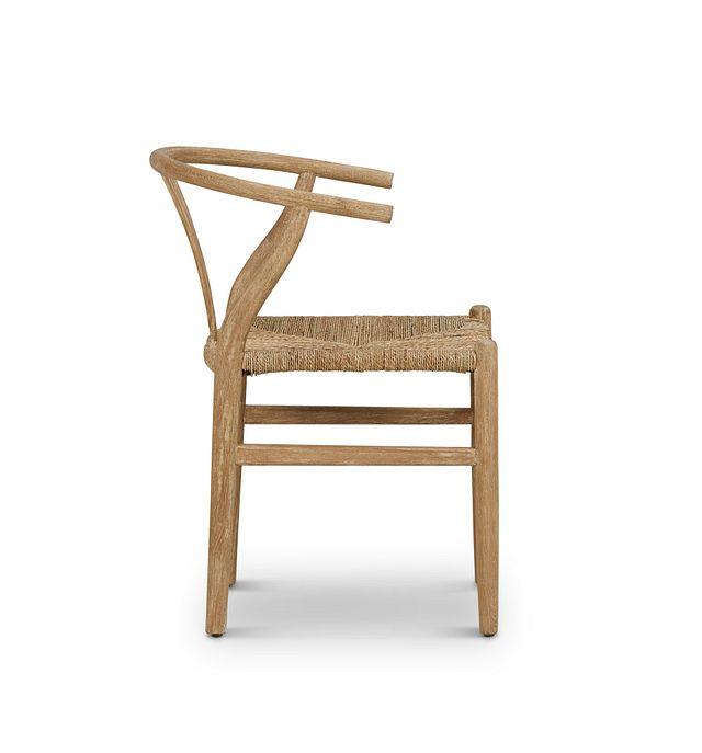 Moya Light Tone Wood Side Chair (2)