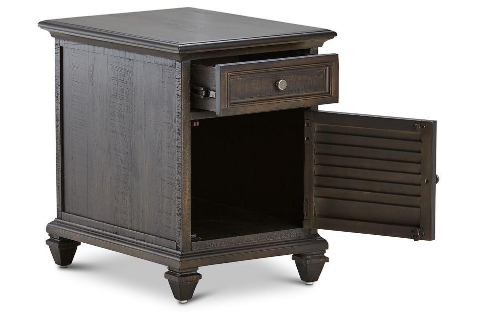 Sonoma Dark Tone Chairside Table