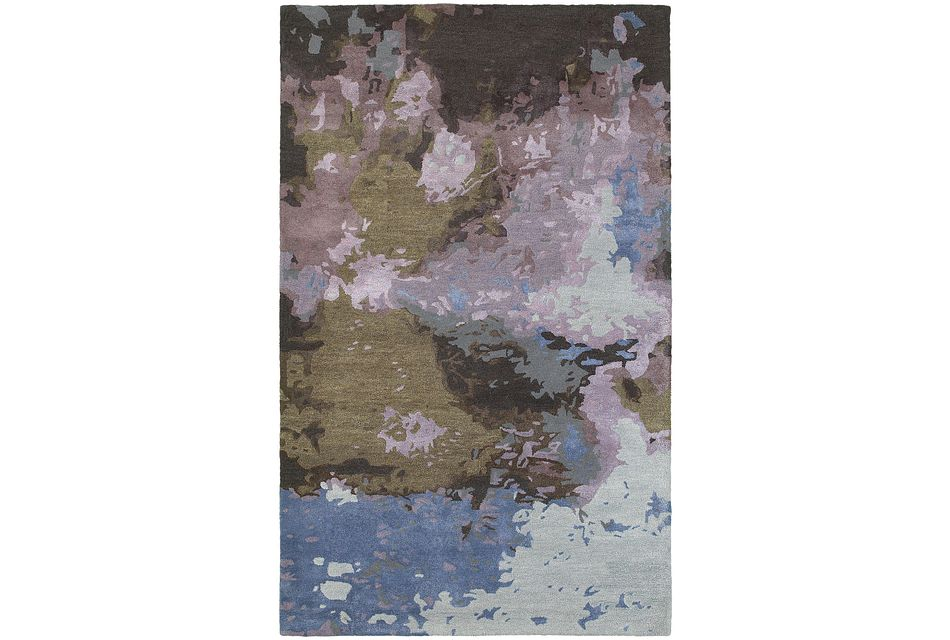 Galaxy Multicolored 8x10 Area Rug