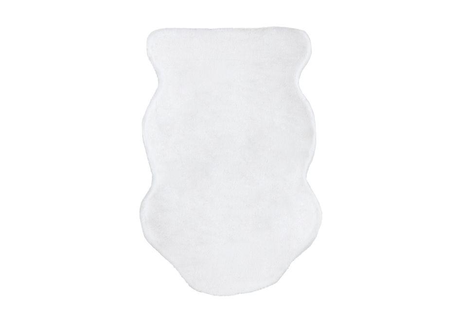 Kaycee White Shaped 4x6 Area Rug