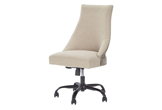 Emma2 Light Tone Swivel Desk Chair