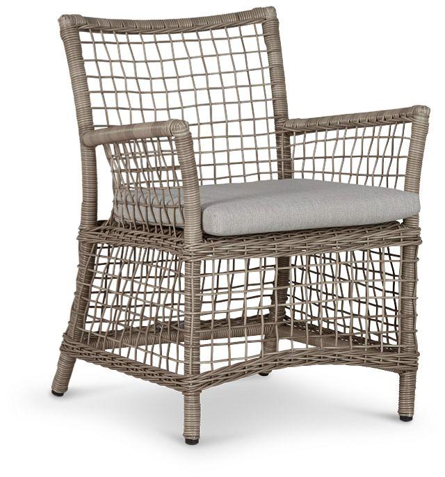 Raleigh Gray Woven Arm Chair (0)