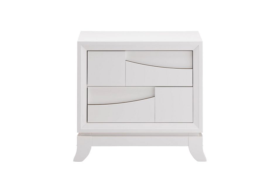 Imperial White Nightstand