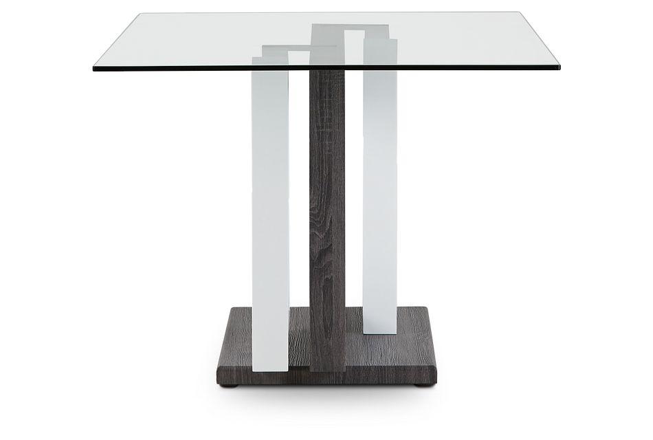 London Glass Rectangular Table