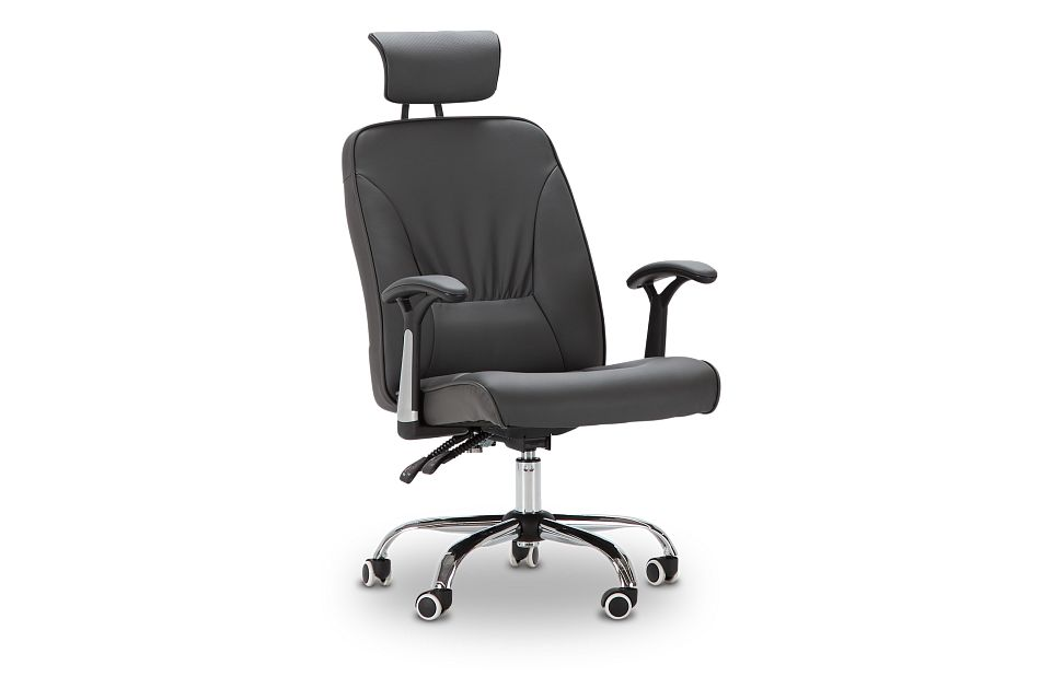 Aurora Gray Uph Desk Chair, %%bed_Size%% (1)
