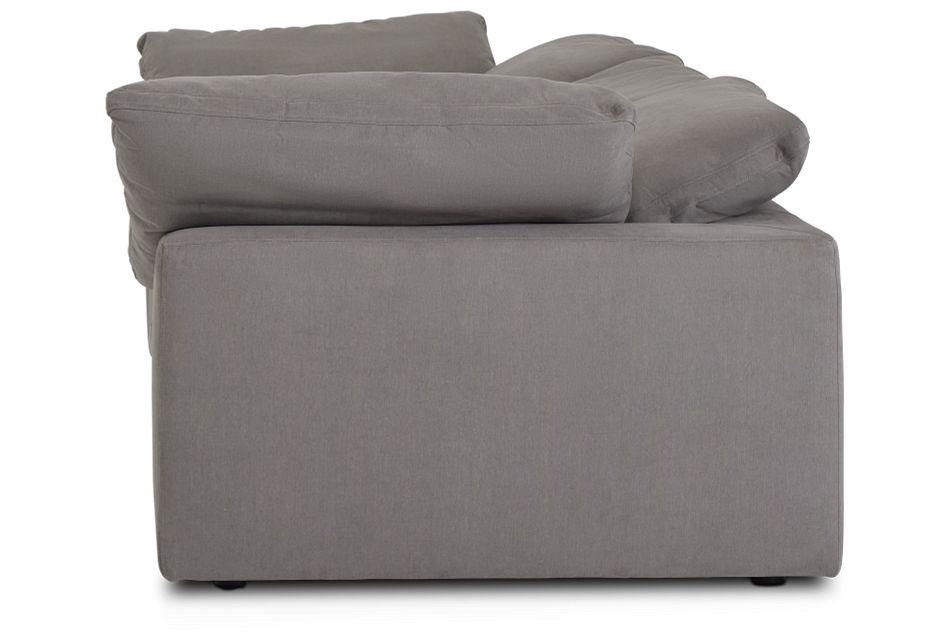 Nixon Light Gray Fabric 3 Piece Modular Sofa,  (3)