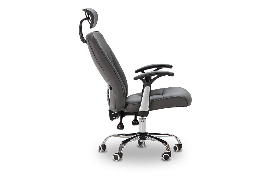 Aurora Gray Uph Desk Chair, %%bed_Size%% (2)