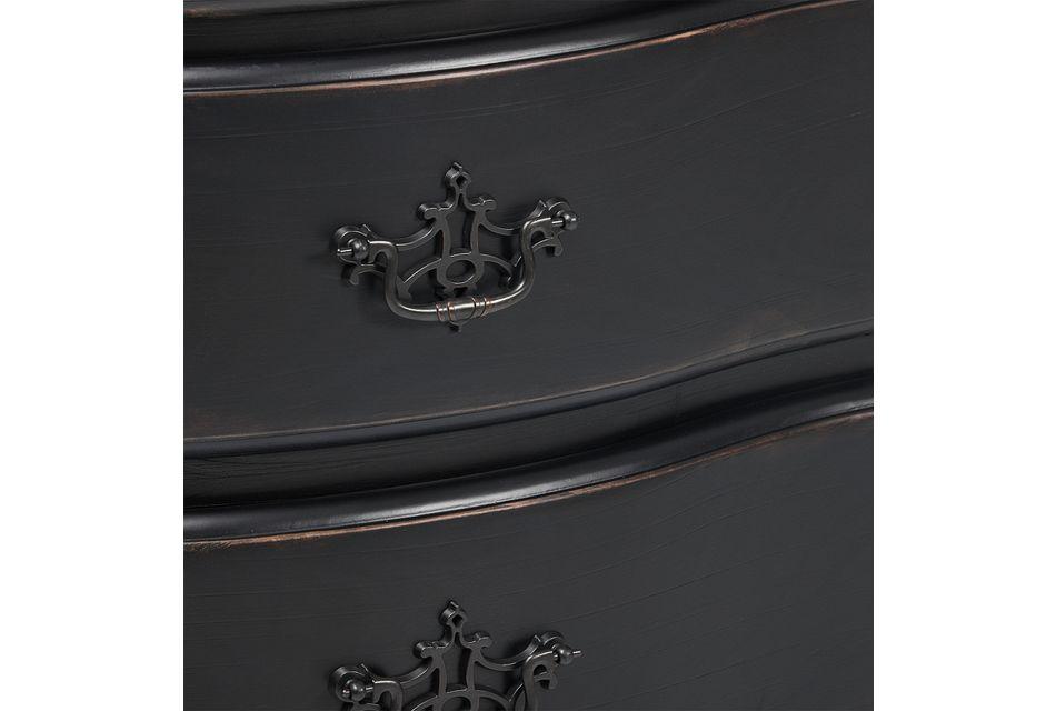 Saddleback Black  Dresser