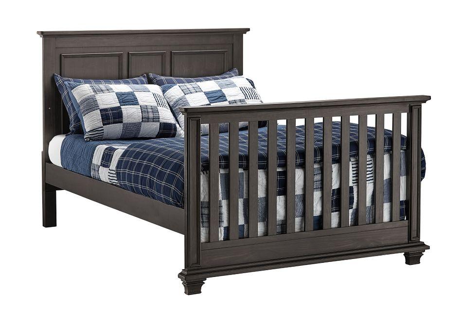 Kenilworth Dark Tone Panel Bed