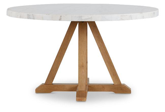 Somerset White Round Table