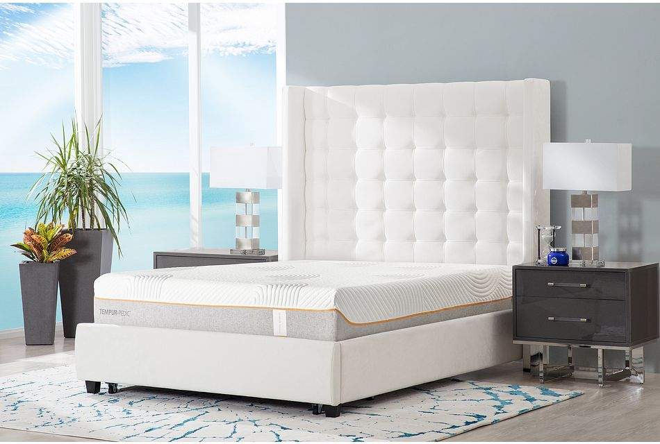 Marco White Uph Platform Storage Bed