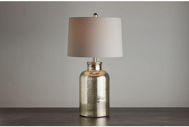 Ronja Bronze Glass Table Lamp