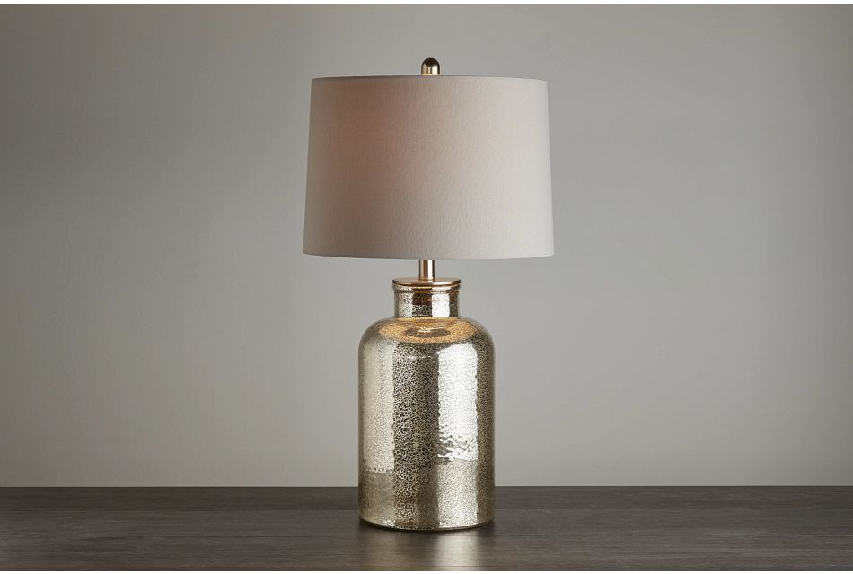 Ronja Bronze Glass Table Lamp