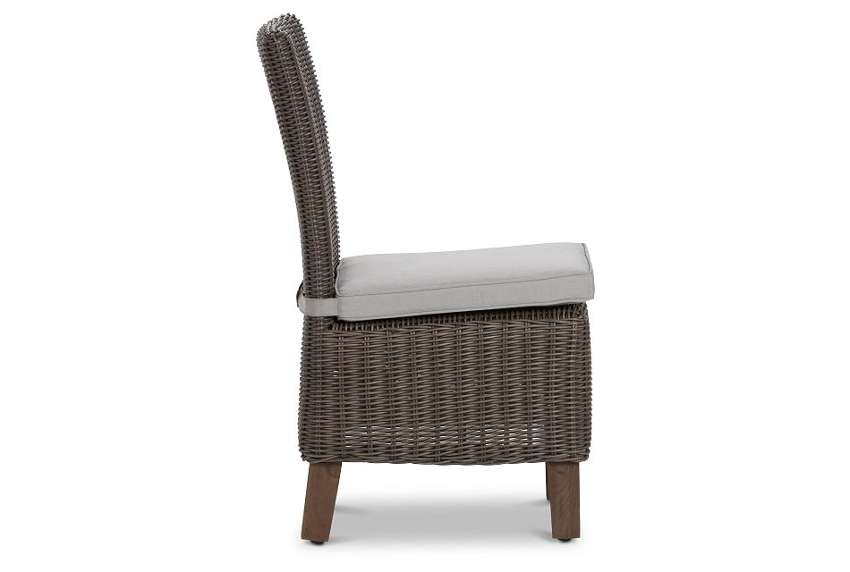 Canyon Gray Woven Side Chair
