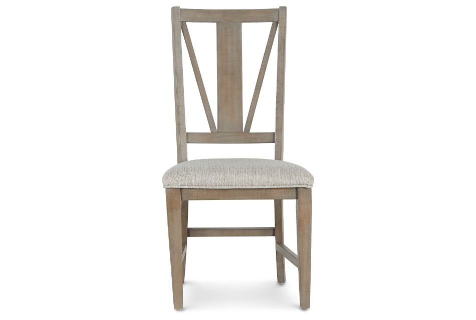 Heron Cove Light Tone Upholstered Side Chair,  (3)
