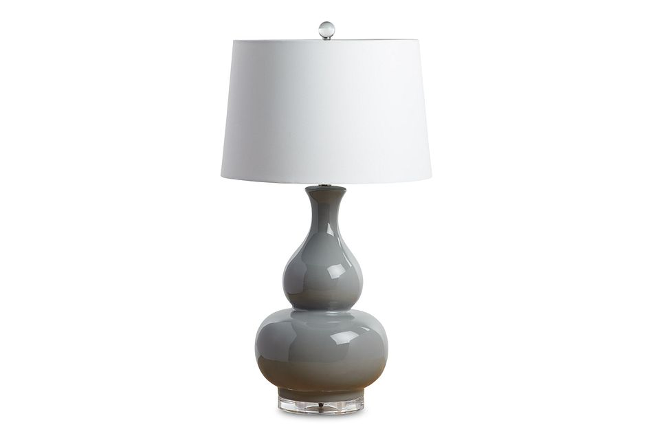 Magnus Gray Table Lamp