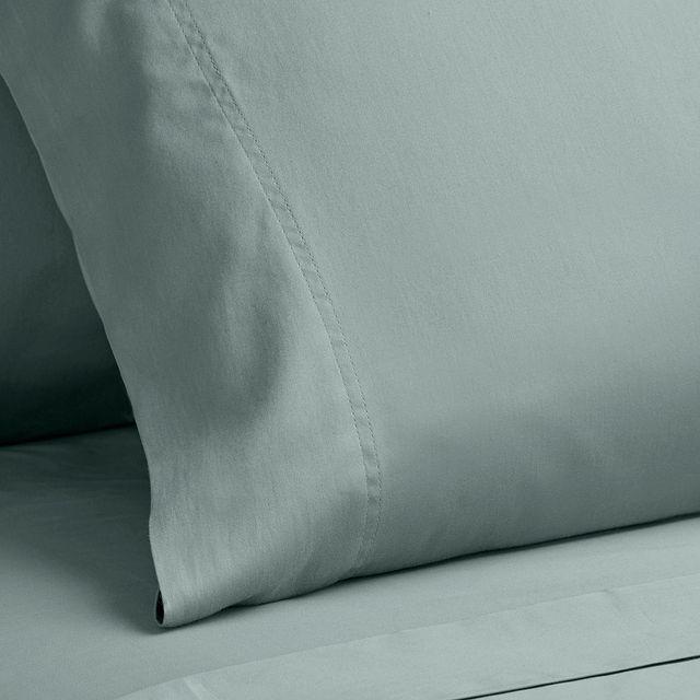 Egyptian Cotton Blue 400 Thread Sheet Set (3)