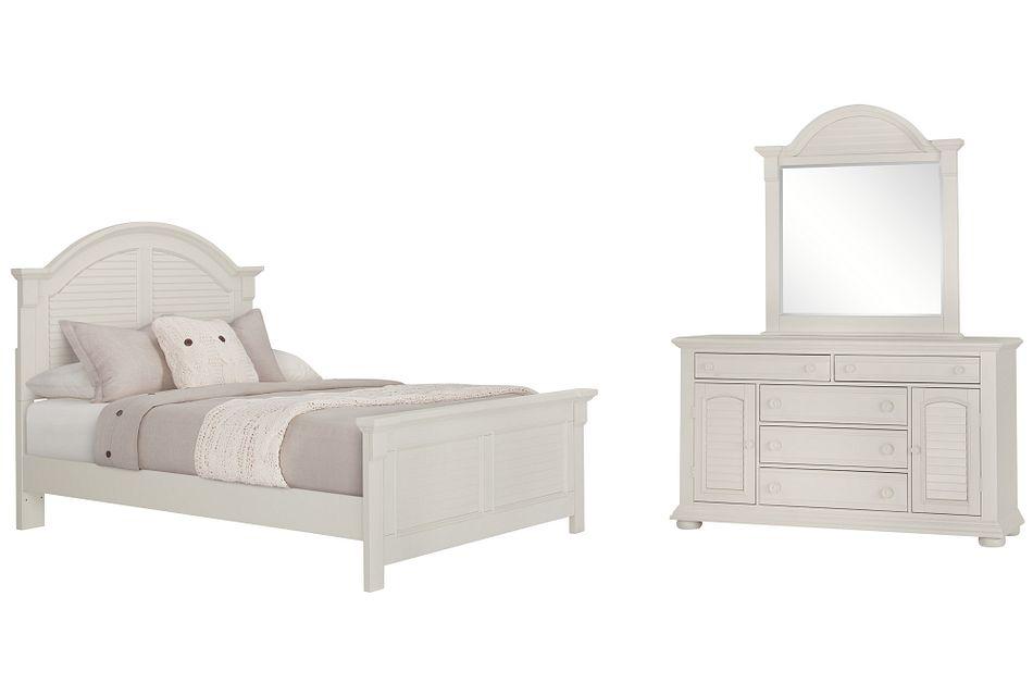 Quinn White  Panel Bedroom, Queen (0)
