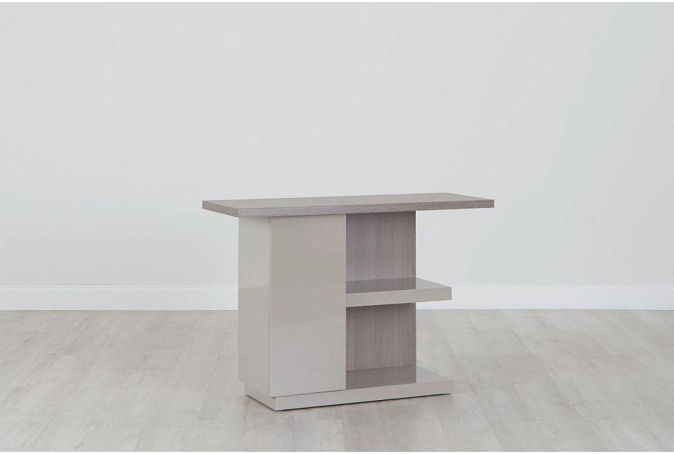 Caelan Light Tone Sofa Table,  (0)