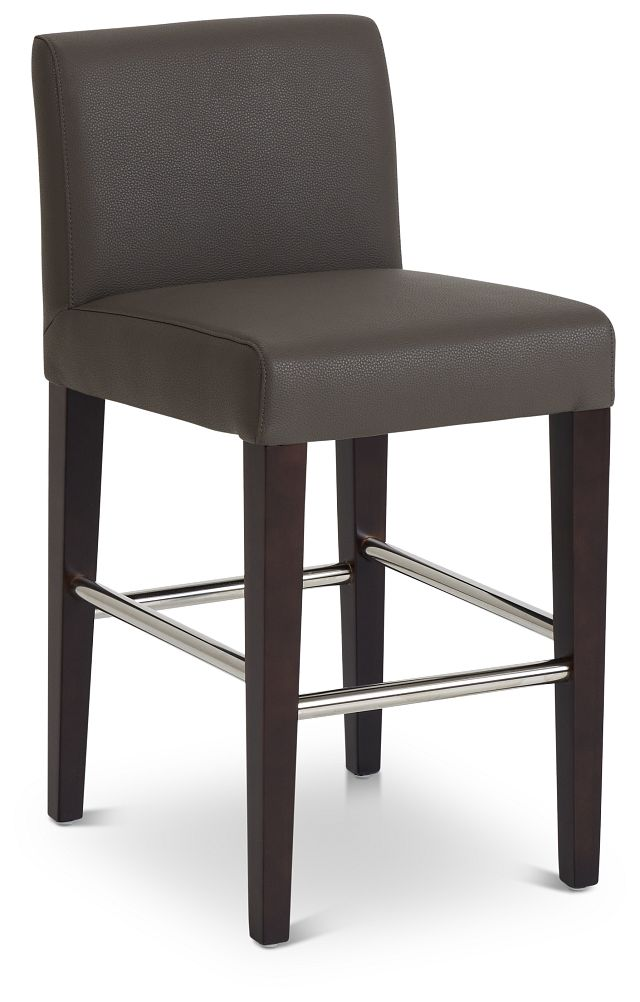 """Cane Graymicro 24"""" Upholstered Barstool (1)"""
